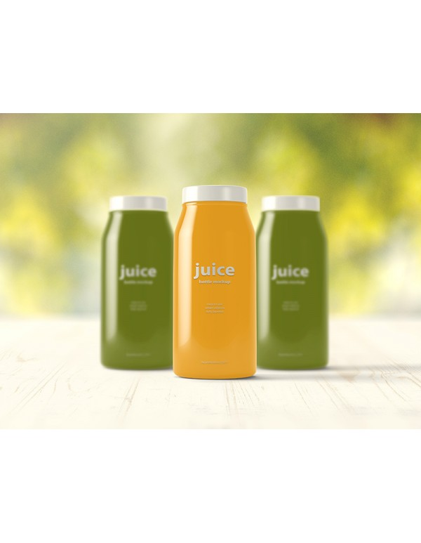 Juice Bottle Mockup-6