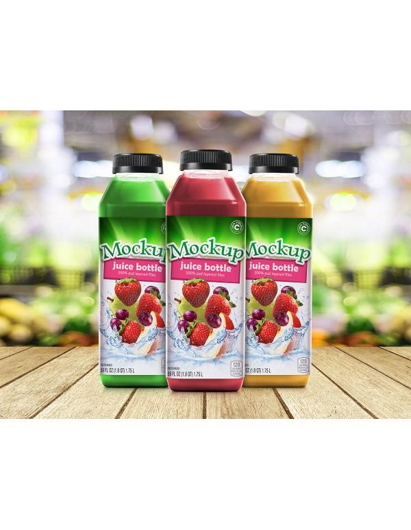 Juice Bottle Mockup-7