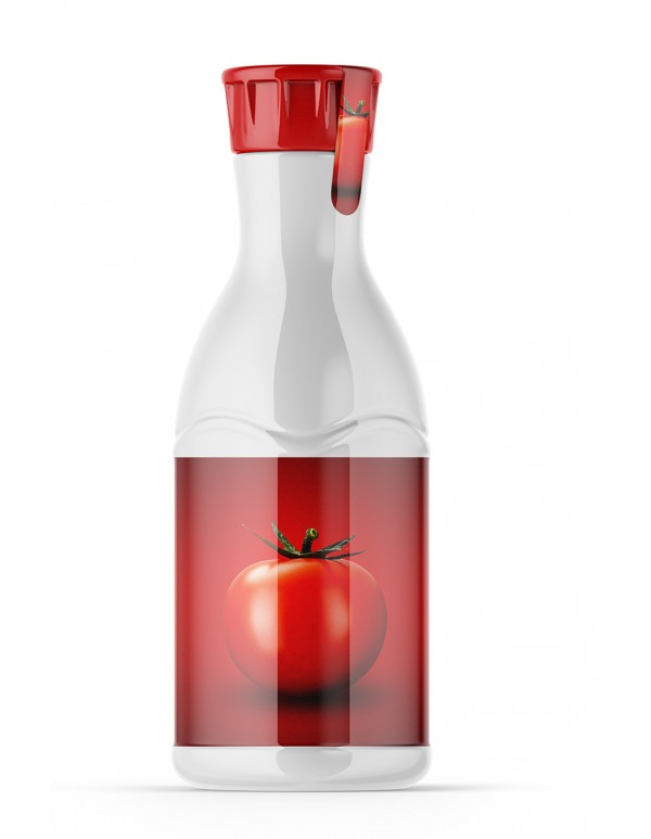 Sauce Plastic Bottle Mockup