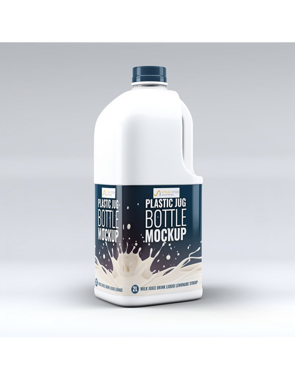 Plastic Jug Bottle Mock-Up