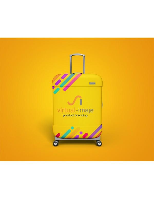 Suitcase bag Mockup