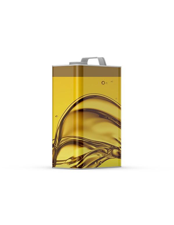 Oil Tin Mockup