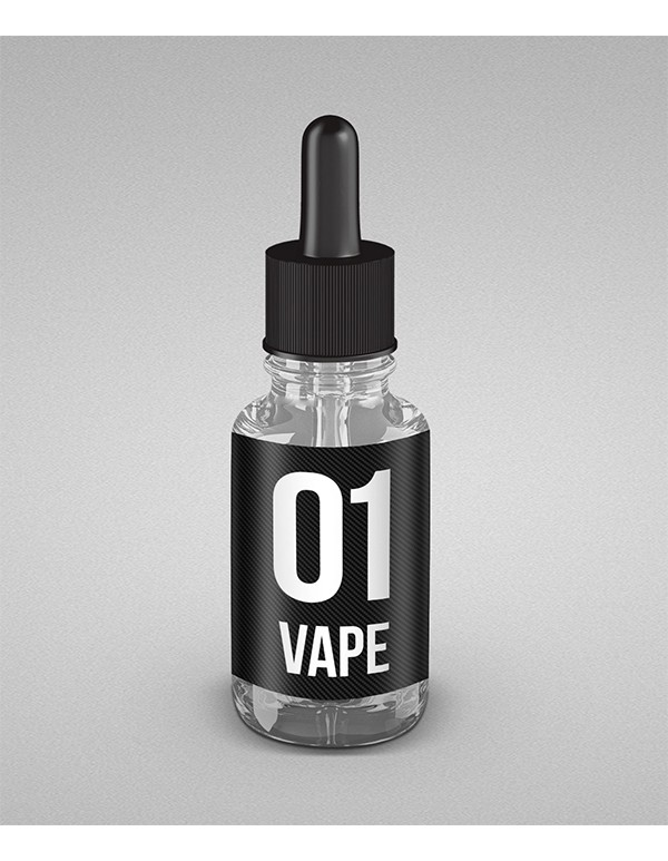 E-Liquid Clear Glass Bottle -5