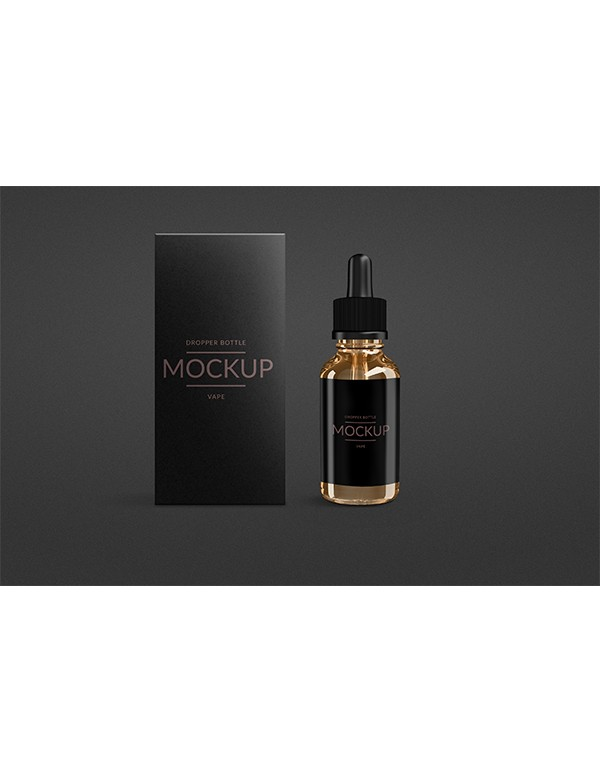 E-Liquid Clear Glass Bottle -7