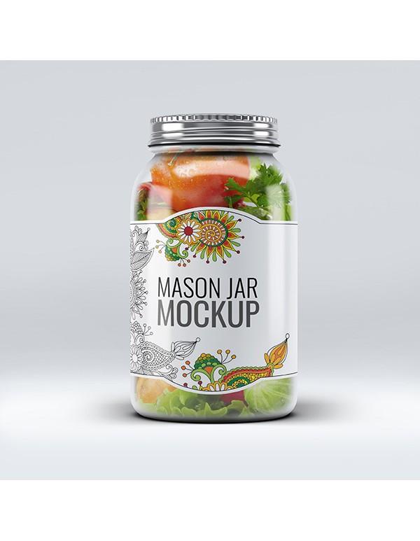 Mason Jar Mockup-1