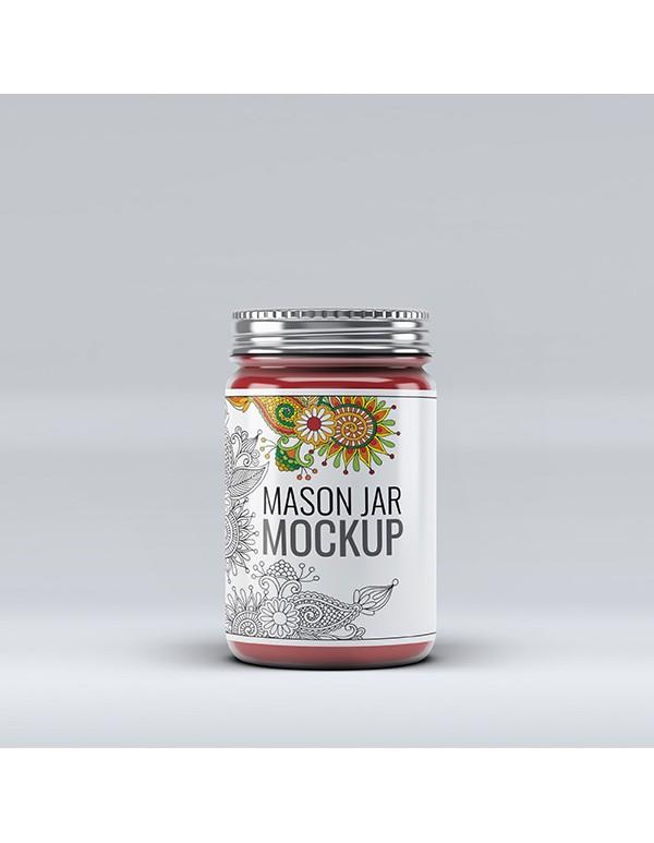 Mason Jar Mockup-2