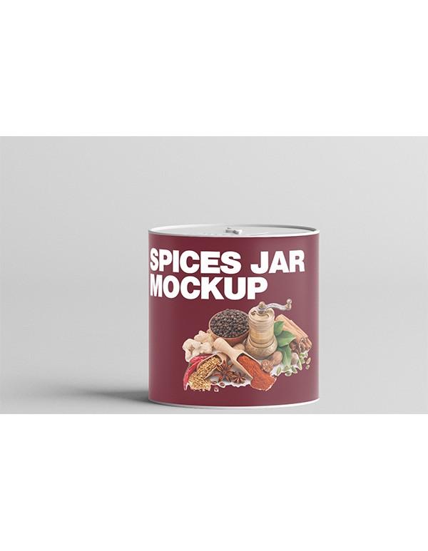 Spices Jar Mockup