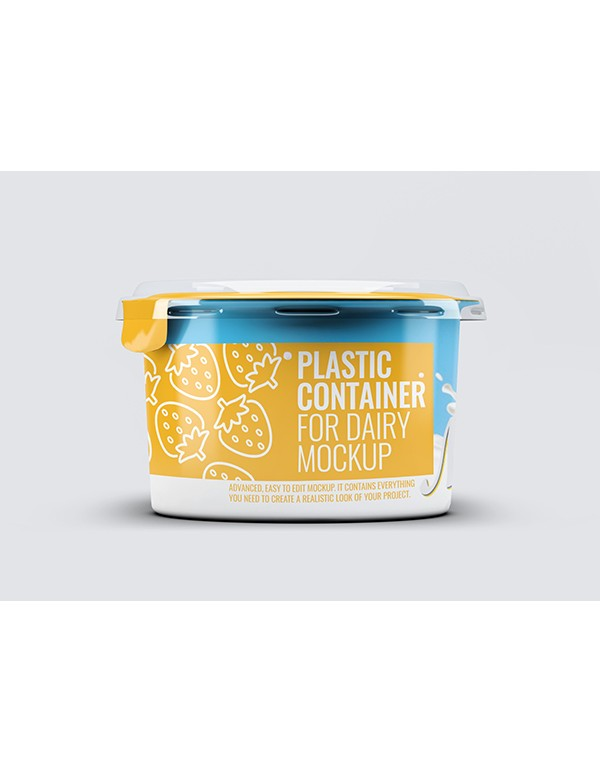 Plastic Container for Dairy products