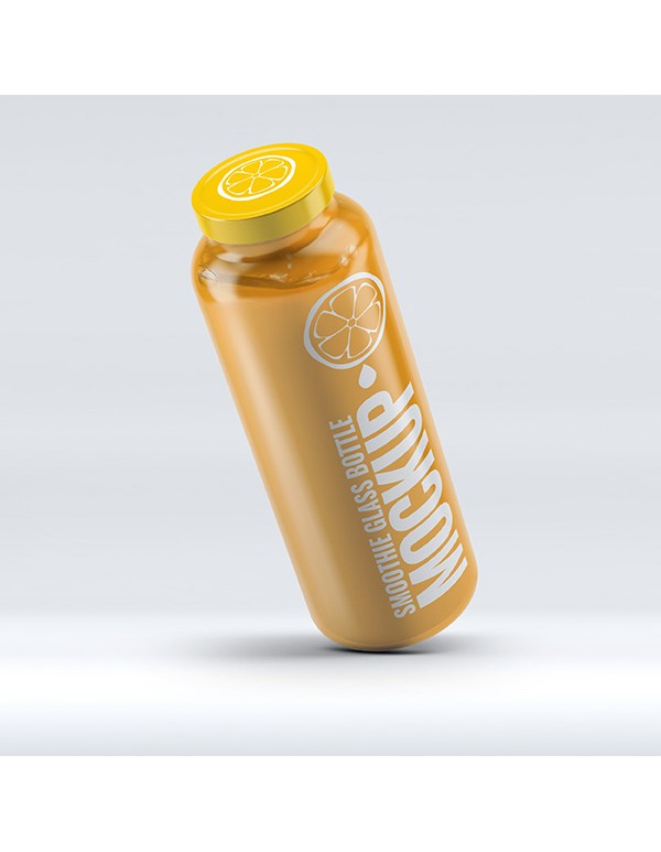 Smoothie Glass Bottle