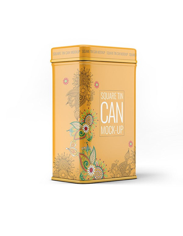 Metal Tin Can Mockup 02