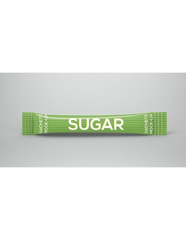 Sugar Sachet Mockup