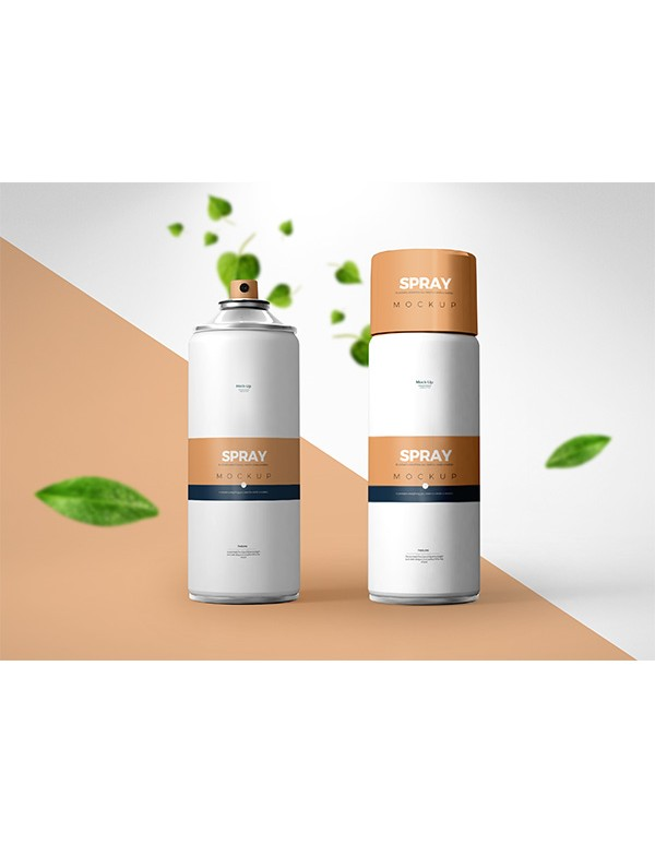 Spray Can Mockup 01