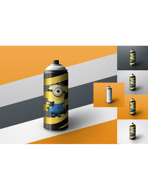 Spray Can Mockup 02