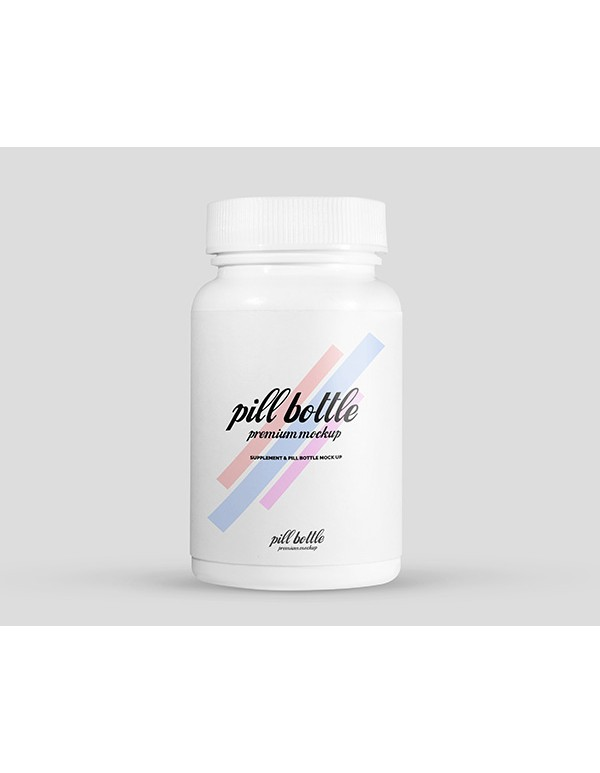 Pills Bottle Mockup 05