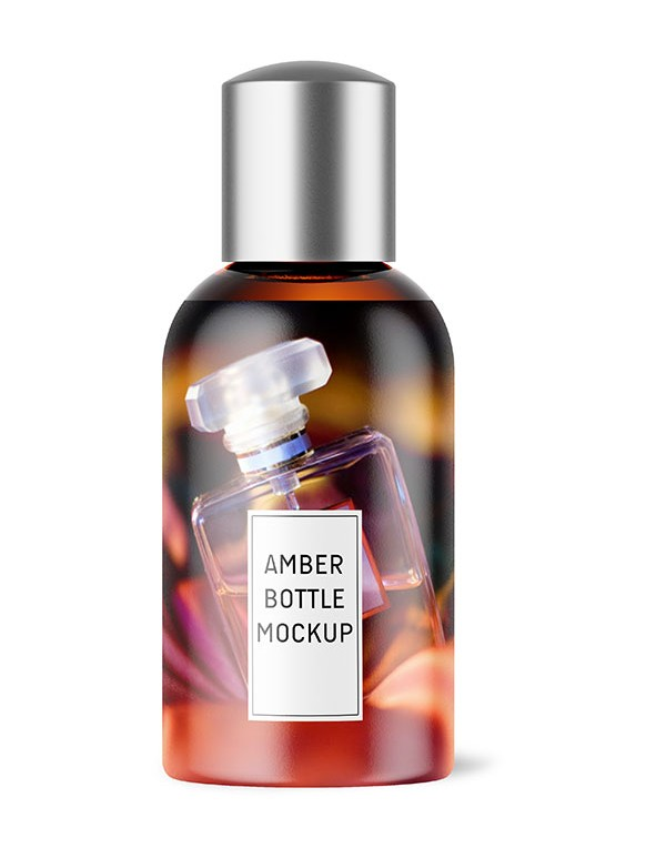Amber Glass Bottle 02