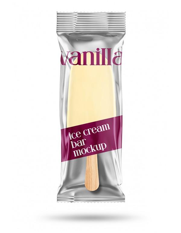 Ice-Cream  Bar Pouch Mockup 03