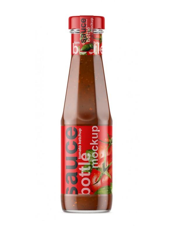 Ketchup Bottle Mockup 02