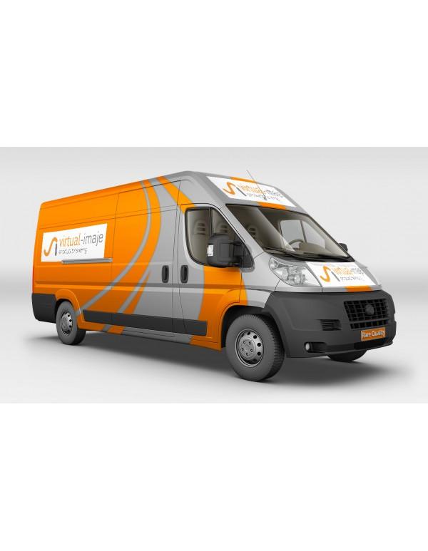 Courier-Van-Mockup