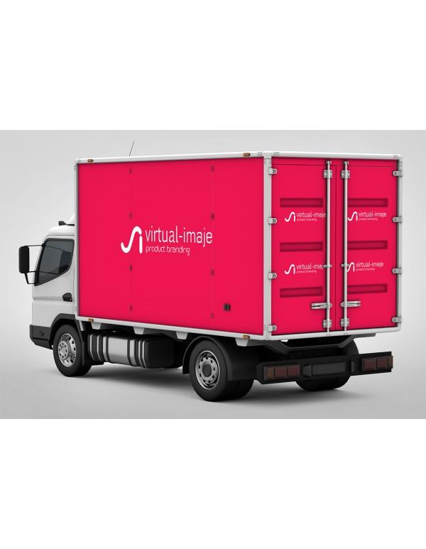 Lorry Branding Mockup