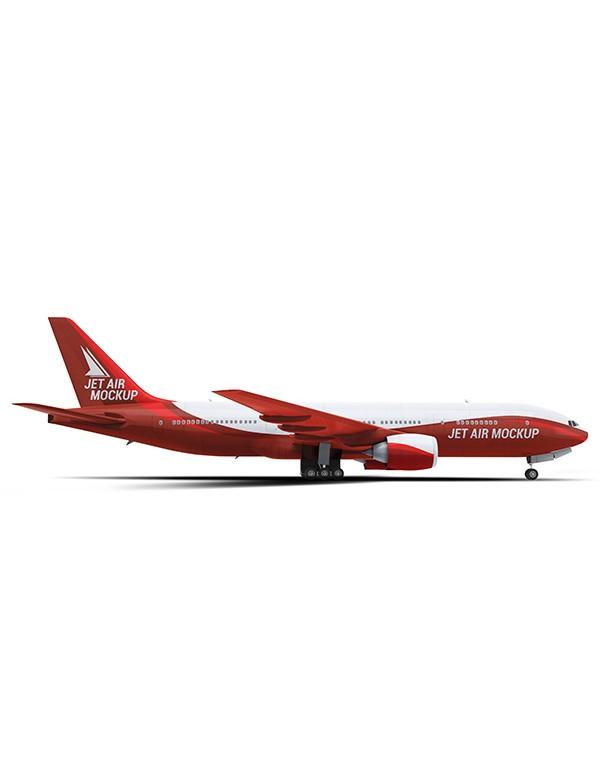 Business Jet Mockup