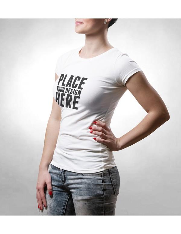 Womens  Tshirt Mockup