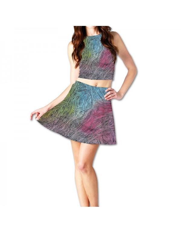 Women Skirt Mockup