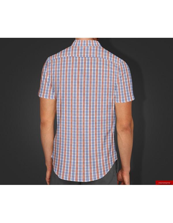 Short Sleeves Dress Shirt Mockup