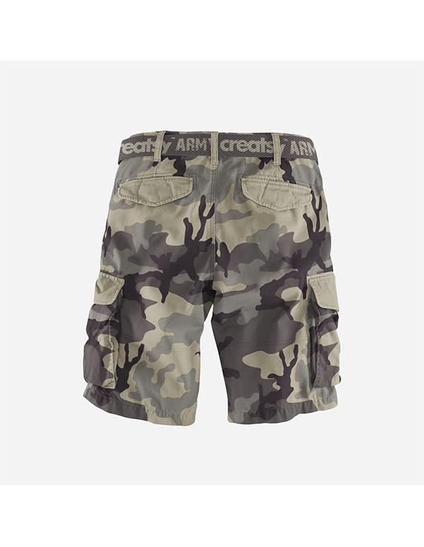Mens Cargo Shorts Mockup