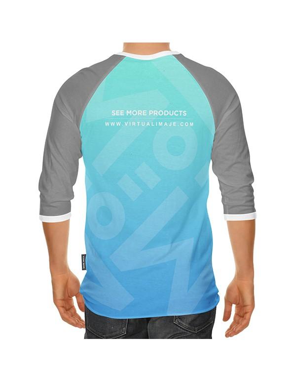 Raglan T-Shirt Mcokup