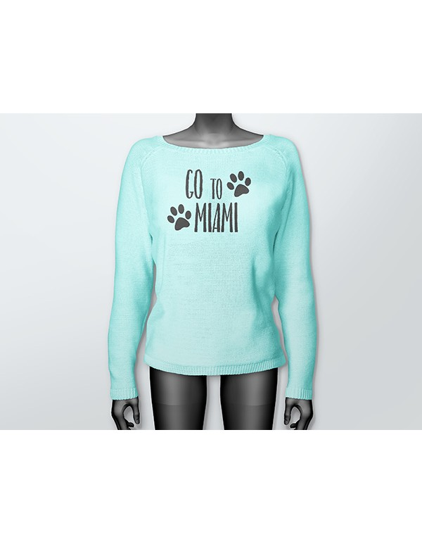 Women Sweater Mockup