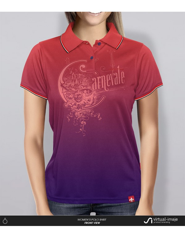 Women's Polo Shirt Mock-Up