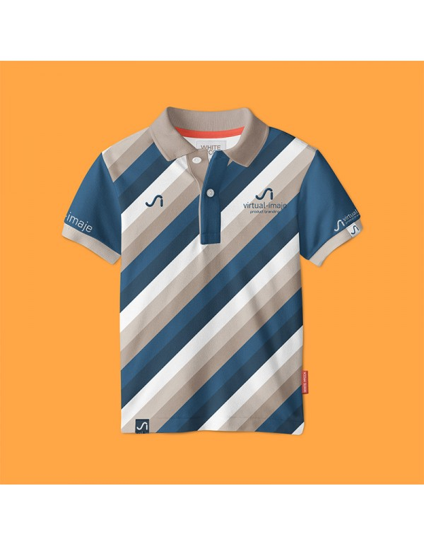Kids Polo Shirt Mock-up