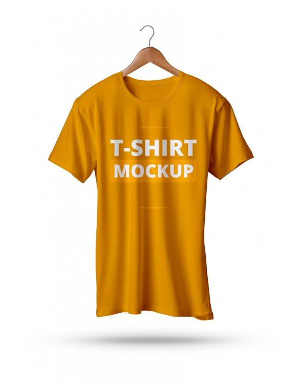 Tshirt  Mockup Hanging