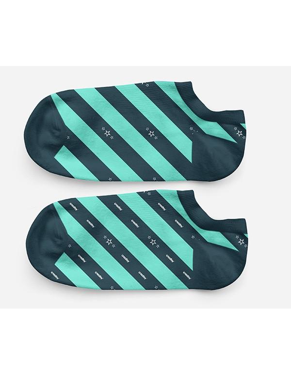 Low Cut Socks Mockup-03