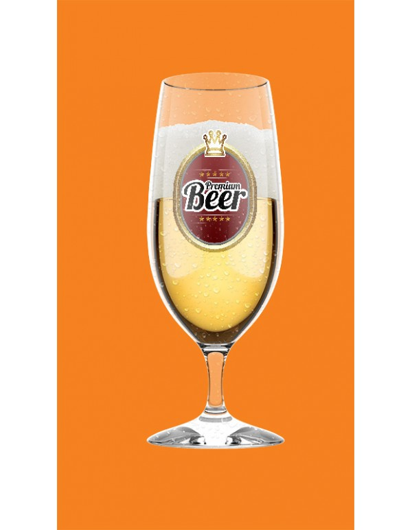 Beer Glasses Mockup