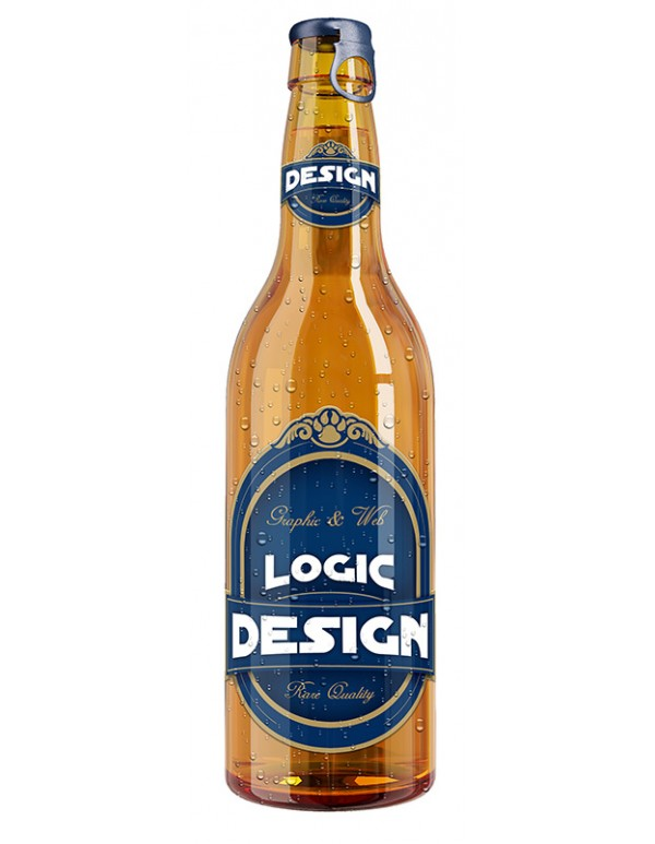 Bottle of Beer Mockup-2