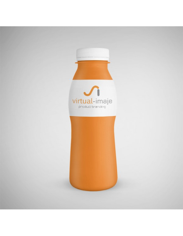 Bottle Sanitary Mockup